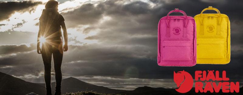 Re-Kanken Daypack / Tagesrucksack von Fjäll Räven - gefertigt aus 100% recycltem Polyester